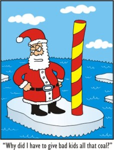 Santa's take on climate change