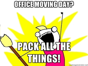 office moving day