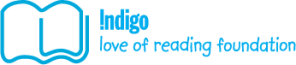 indigo love reading logo