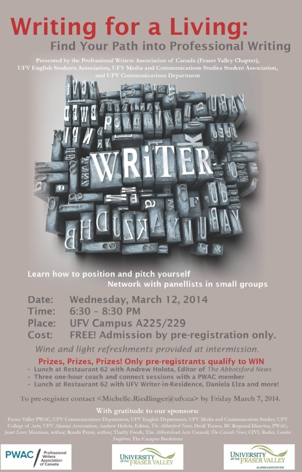 Writers invited!